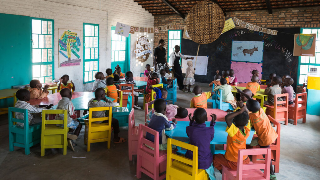 Class room which is part of our program with UNICEF
