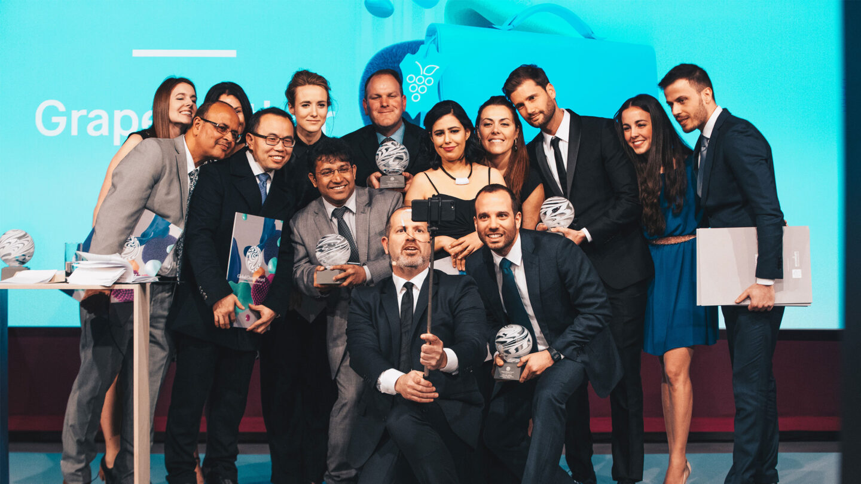 Winners of Global Change Award 2018