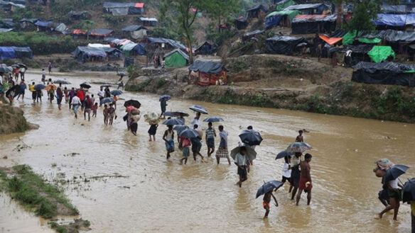 Urgent situation for refugees in Myanmar and Bangladesh