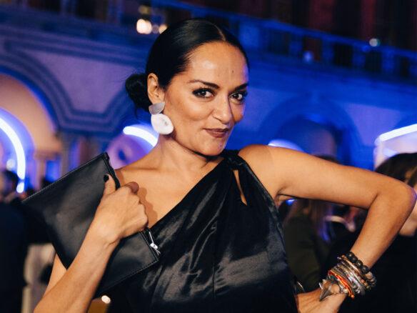 Bandana Tewari at the GCA Award Ceremony