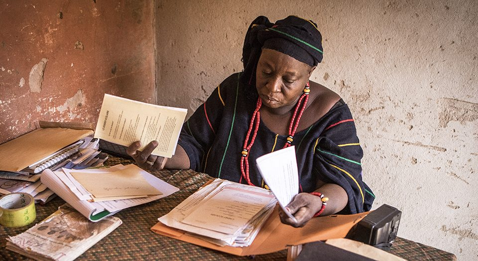 Fatoumata Guindo lives in Mali and is part of our program with UNICEF