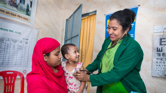 Rima Akter is a Community Healthcare Provider in Bangladesh