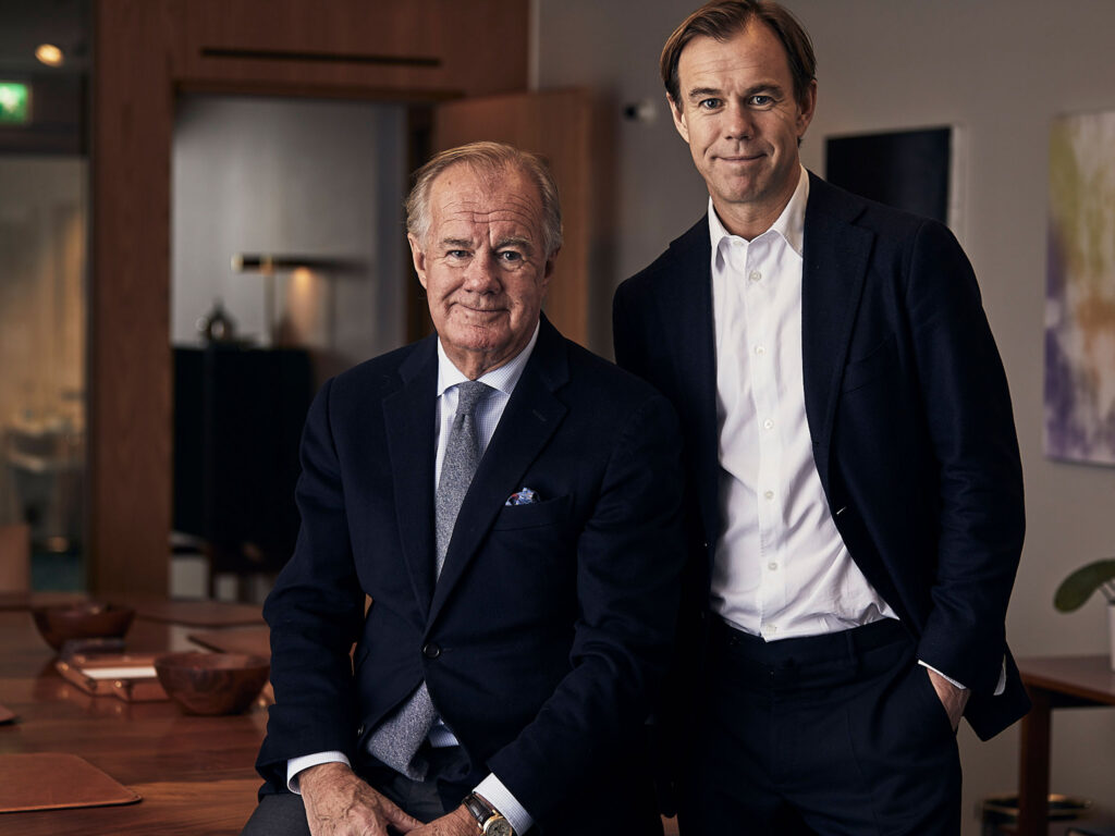 Stefan Persson and Karl-Johan Persson
