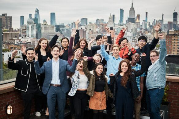 GCA winners at the Accelerator week in New York