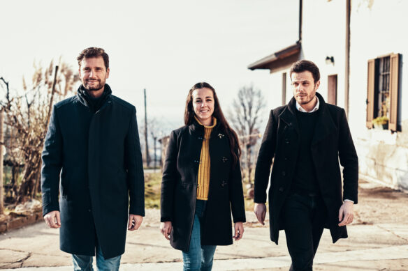 Gianpiero Tessitore, Valentina Longobardo and Francesco Merlino at VEGEA